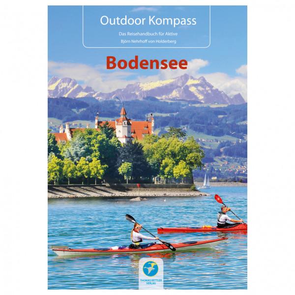 Outdoor Kompass Bodensee - Walking guide book