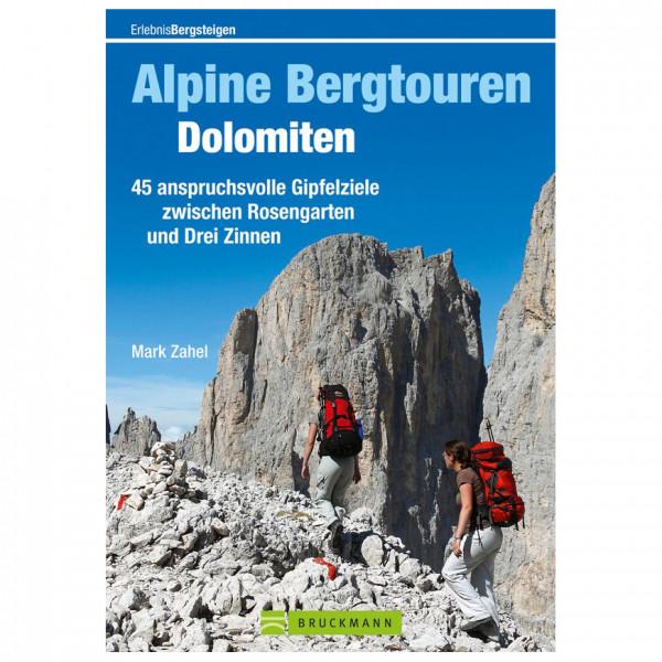 Bruckmann - Alpine Bergtouren Dolomiten - Vandringsguider