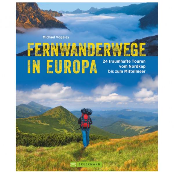 Bruckmann - Fernwanderwege in Europa - Wandelgidsen