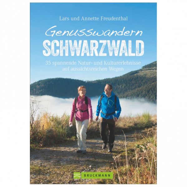 Bruckmann - Genusswandern Schwarzwald - Walking guide book
