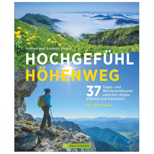 Bruckmann - Hochgefühl Höhenweg - Vandringsguider