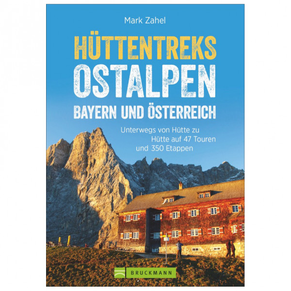 Bruckmann - Hüttentreks Ostalpen - Walking guide book