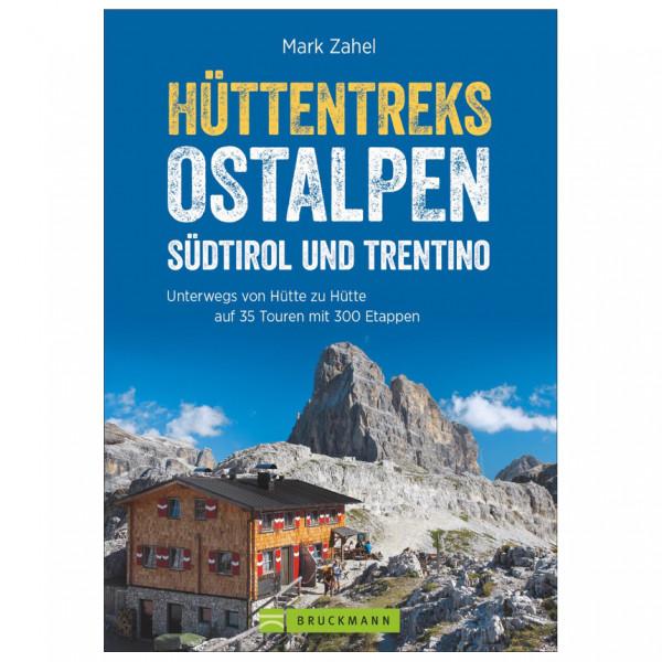 Bruckmann - Hüttentreks Ostalpen - Südtirol Trentino - Vandringsguider