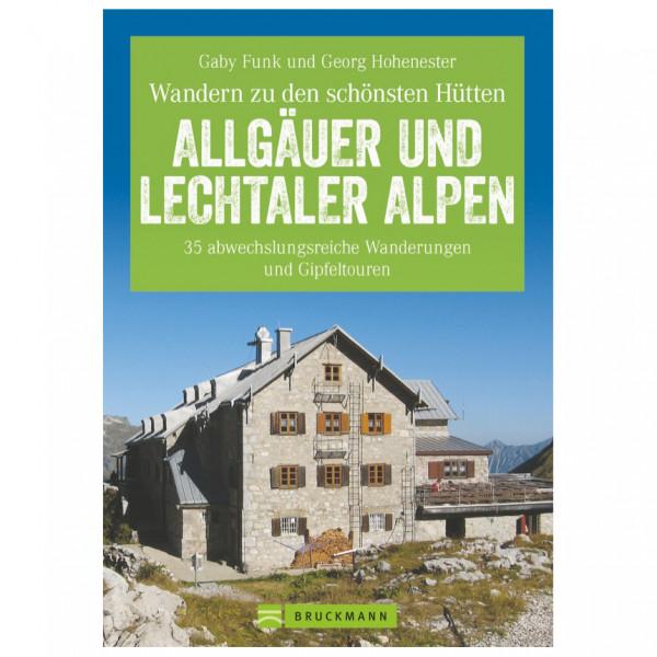 Bruckmann - Hüttenwandern Allgäuer und Lechtaler Alpen - Wanderführer