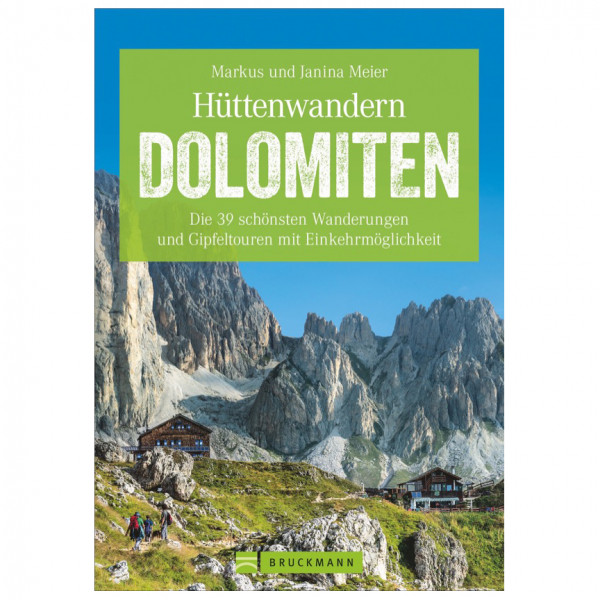 Bruckmann - Hüttenwandern Dolomiten - Vandringsguider