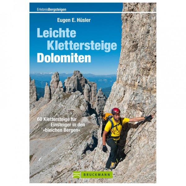 Bruckmann - Leichte Klettersteige Dolomiten - Vaellusoppaat
