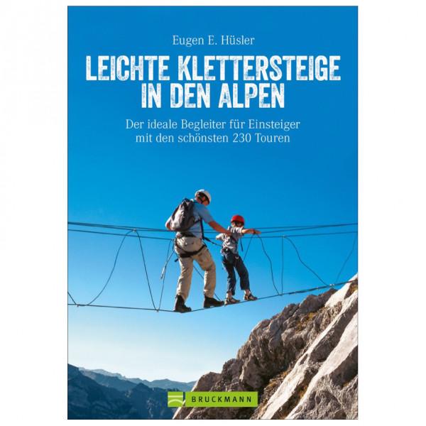 Bruckmann - Leichte Klettersteige in den Alpen - Guías de senderismo