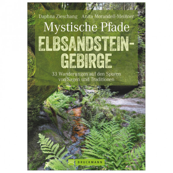 Bruckmann - Mystische Pfade Elbsandsteingebirge - Wandelgids