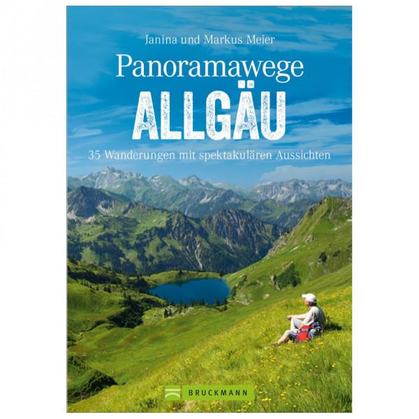 Bruckmann - Panoramawege Allgäu - Vandringsguider
