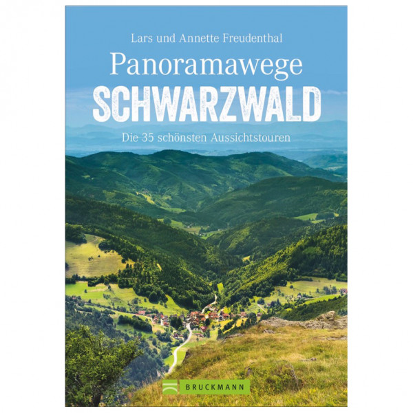 Bruckmann - Panoramawege Schwarzwald - Vandringsguider