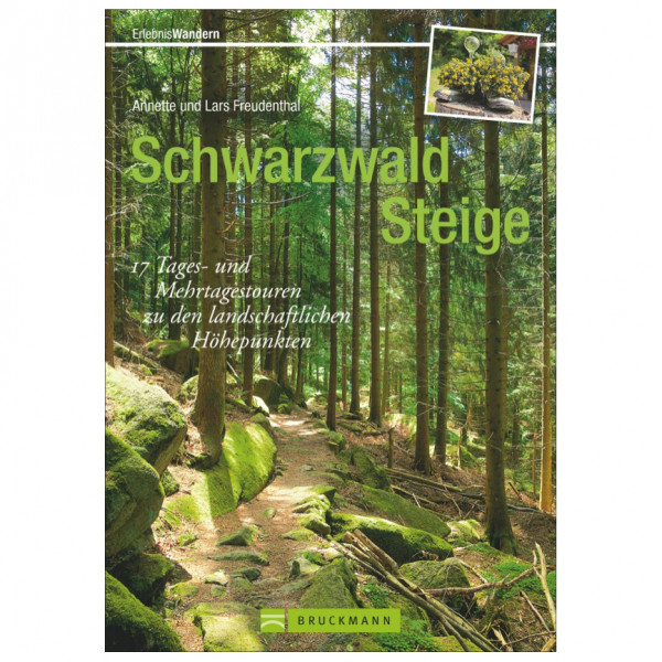 Bruckmann - Schwarzwald Steige - Walking guide book
