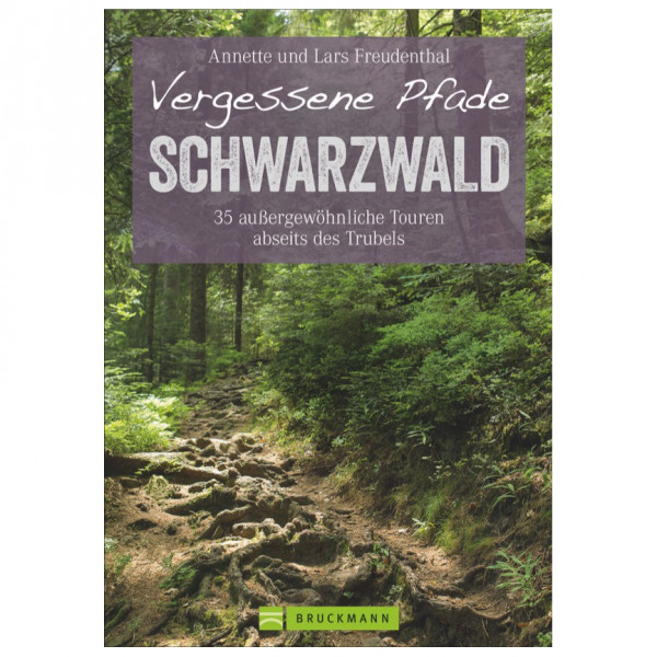 Bruckmann - Vergessene Pfade im Schwarzwald - Wandelgidsen