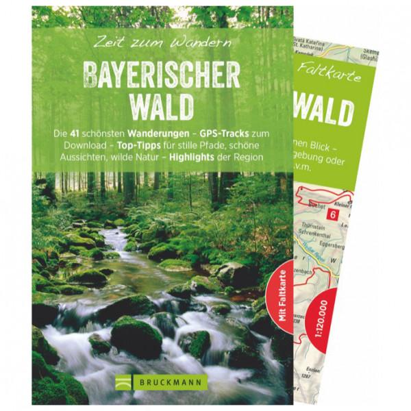 Bruckmann - Zeit zum Wandern Bayerischer Wald - Vaellusoppaat
