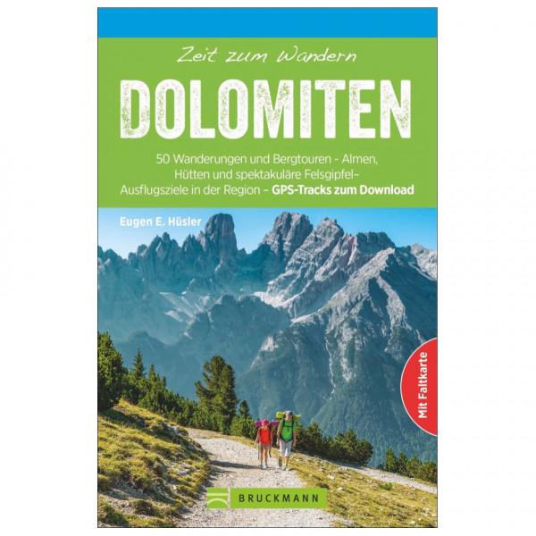 Bruckmann - Zeit zum Wandern Dolomiten - Vaellusoppaat