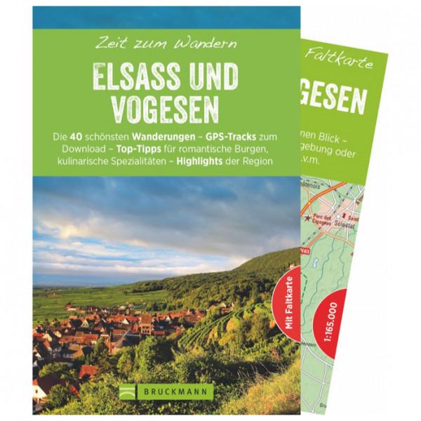 Bruckmann - Zeit zum Wandern Elsass und Vogesen - Wandelgids