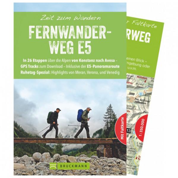 Bruckmann - Zeit zum Wandern Fernwanderweg E5 - Wanderführer