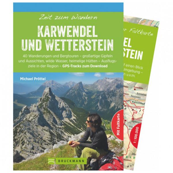 Bruckmann - Zeit zum Wandern Karwendel U. Wetterstein - Vaellusoppaat