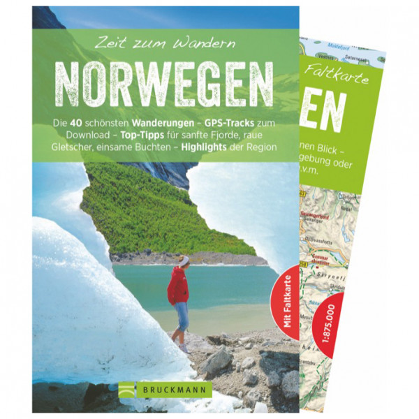 Bruckmann - Zeit zum Wandern Norwegen - Vaellusoppaat