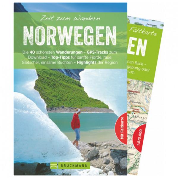 Bruckmann - Zeit zum Wandern Norwegen - Walking guide book