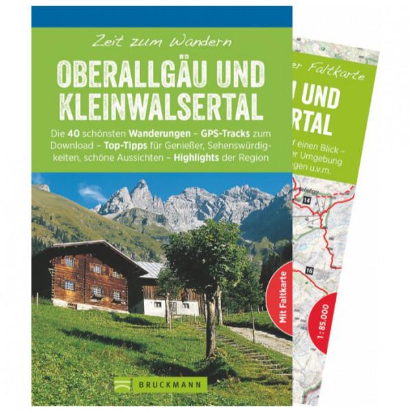 Bruckmann - Zeit zum Wandern Oberallgäu U. Kleinw. - Vaellusoppaat