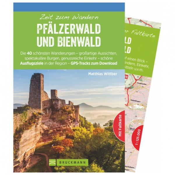 Bruckmann - Zeit zum Wandern Pfälzerwald Bienwald - Vandreguides
