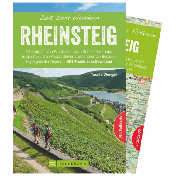 Bruckmann - Zeit zum Wandern Rheinsteig - Vandringsguider