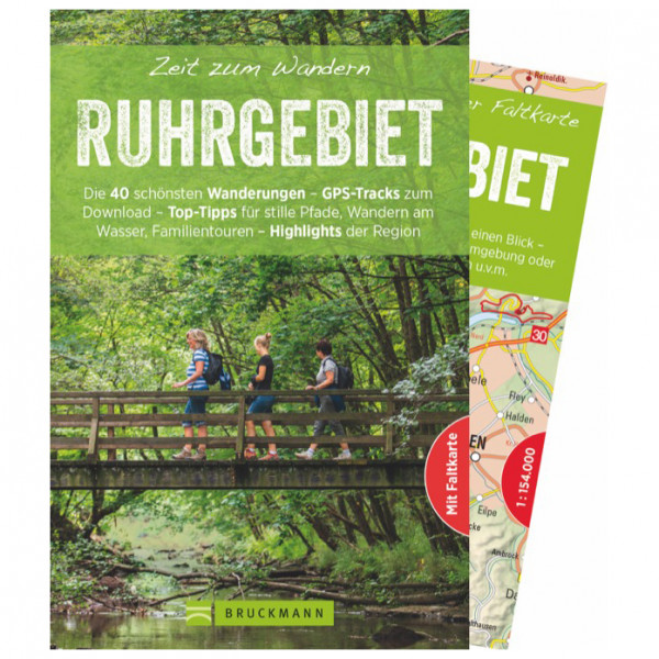 Bruckmann - Zeit zum Wandern Ruhrgebiet - Wandelgids