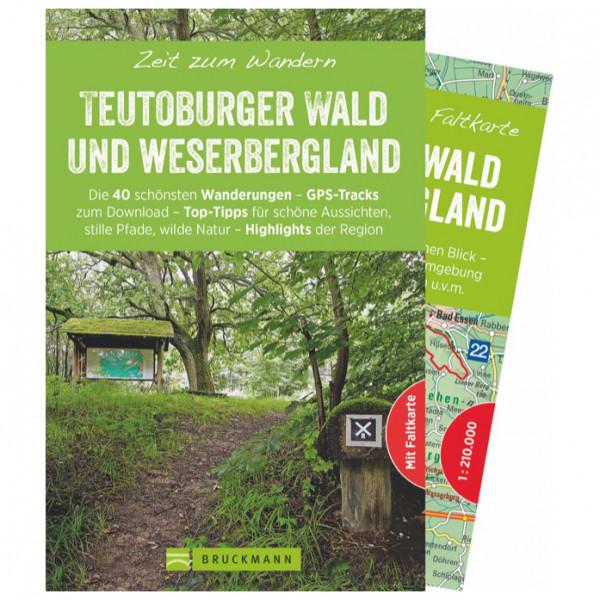 Bruckmann - Zeit zum Wandern Teutoburger Wald - Wandelgidsen