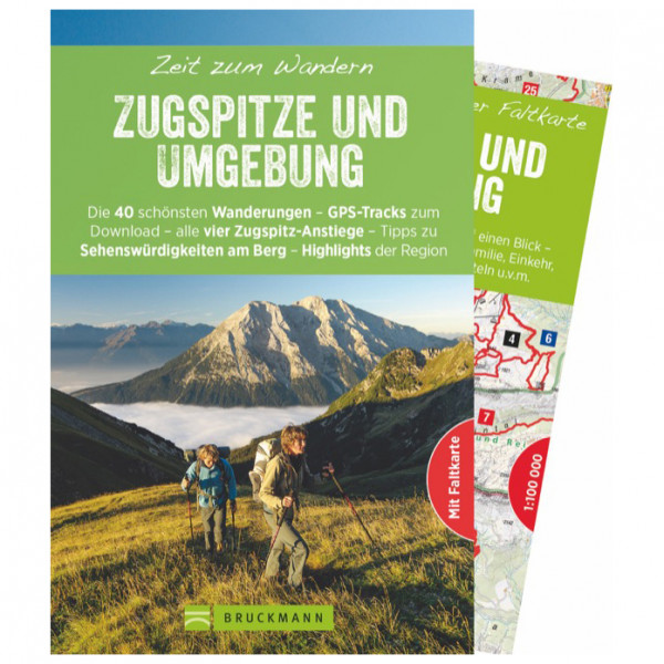 Bruckmann - Zeit zum Wandern Zugspitze und Umgebung - Vandreguides