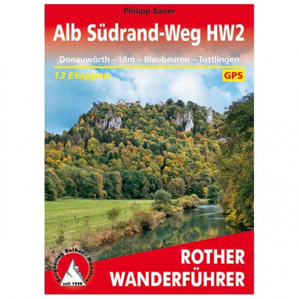 Bergverlag Rother - Alb Südrand-Weg HW2 - Vandreguides
