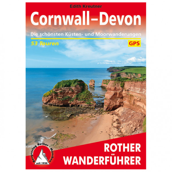 Bergverlag Rother - Cornwall - Devon - Walking guide book
