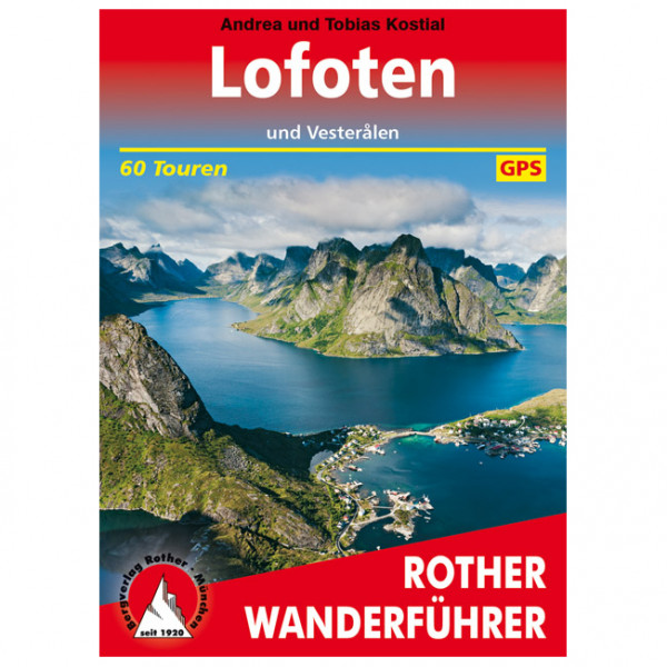 Bergverlag Rother - Lofoten Und Vesterålen - Vandringsguider