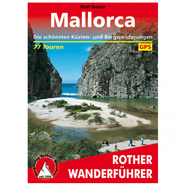 Bergverlag Rother - Mallorca - Walking guide book