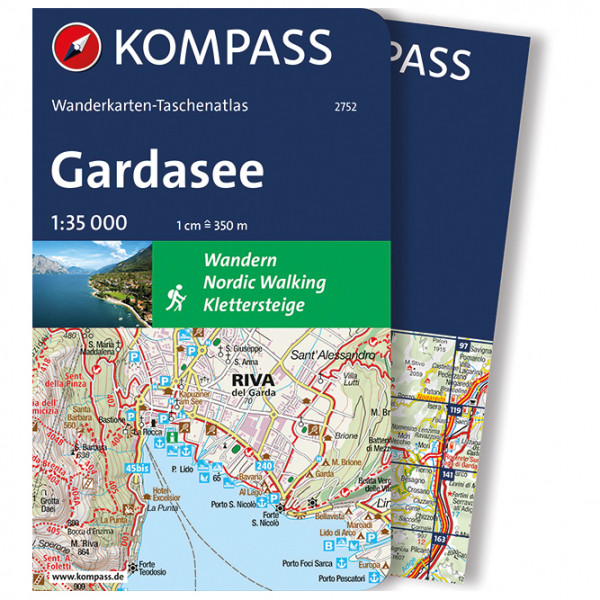 Kompass - Gardasee - Vandreguides