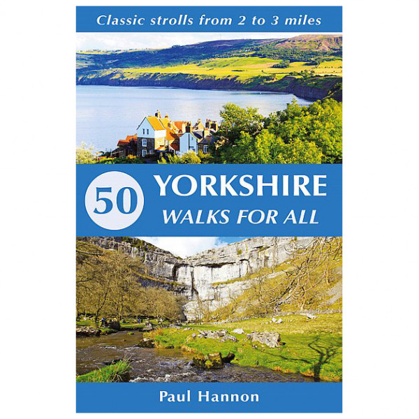 50 Yorkshire Walks for All - Walking guide book