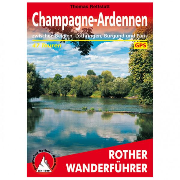 Bergverlag Rother - Champagne-Ardennen - Vandringsguider