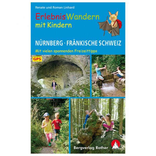 Bergverlag Rother - Erlebniswandern mit Kindern Nürnberg  - Vandringsguider