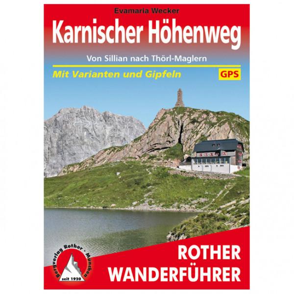 Bergverlag Rother - Karnischer Höhenweg - Guías de senderismo