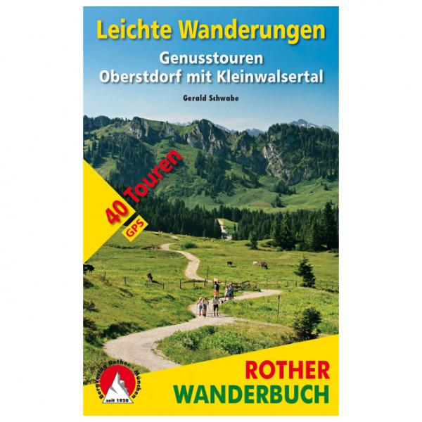 Bergverlag Rother - Leichte Wanderungen Oberstdorf mit Kleinwalsertal - Wandelgids