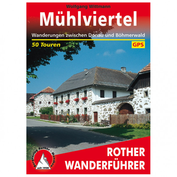Bergverlag Rother - Mühlviertel - Walking guide book