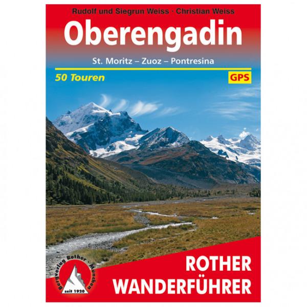 Bergverlag Rother - Oberengadin - Walking guide book