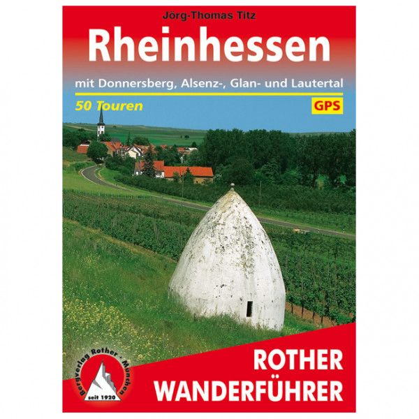 Bergverlag Rother - Rheinhessen - Vandringsguider