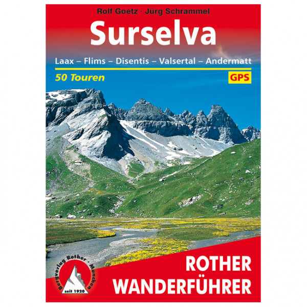 Bergverlag Rother - Surselva - Vaellusoppaat