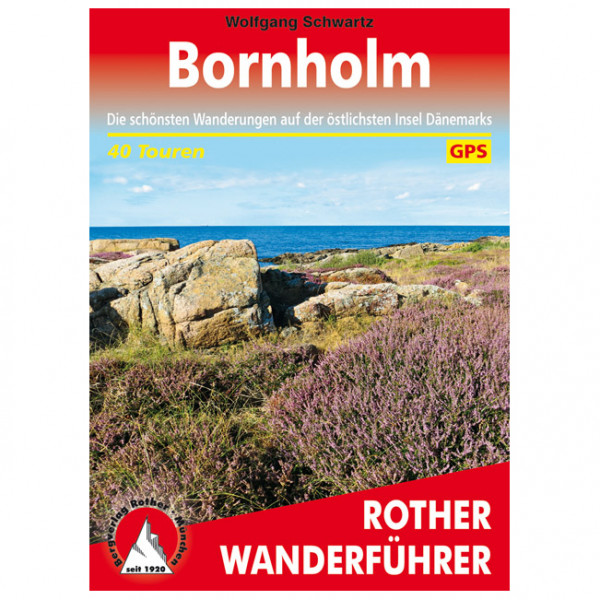 Bergverlag Rother - Bornholm - Walking guide book