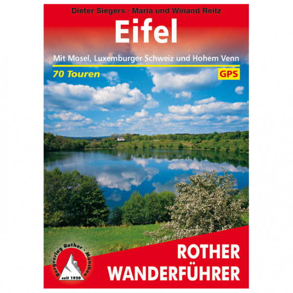 Bergverlag Rother - Eifel - Walking guide book