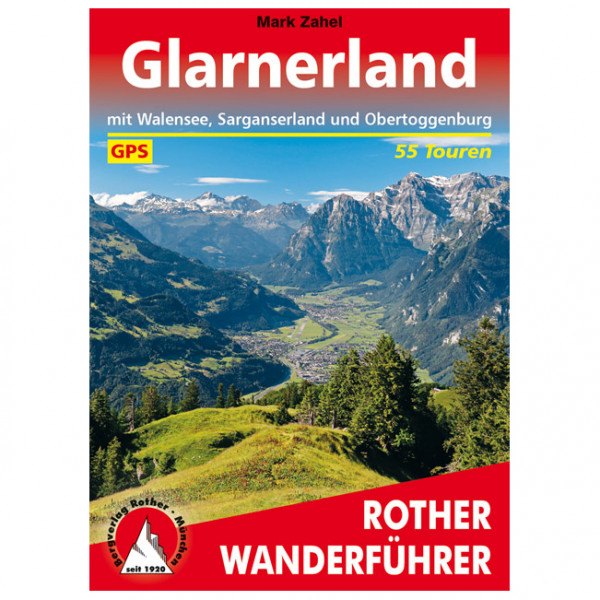 Bergverlag Rother - Glarnerland - Walking guide book