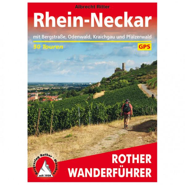 Bergverlag Rother - Rhein-Neckar - Walking guide book
