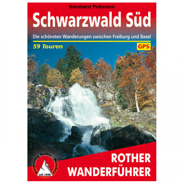 Bergverlag Rother - Schwarzwald Süd - Vaellusoppaat