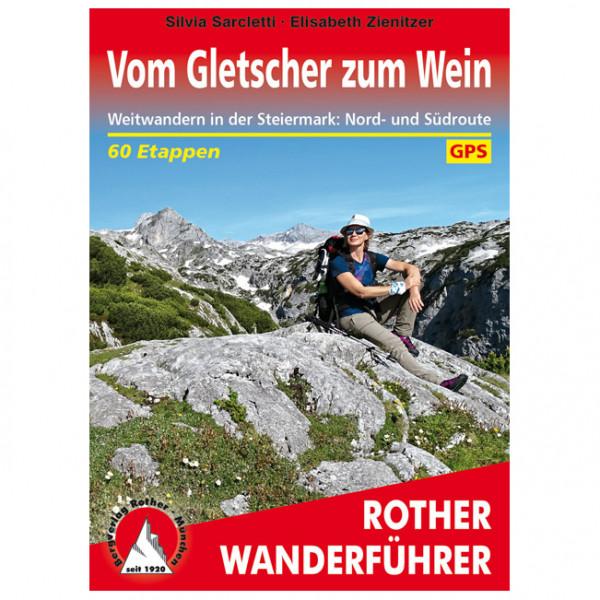 Bergverlag Rother - Vom Gletscher zum Wein - Vandreguides