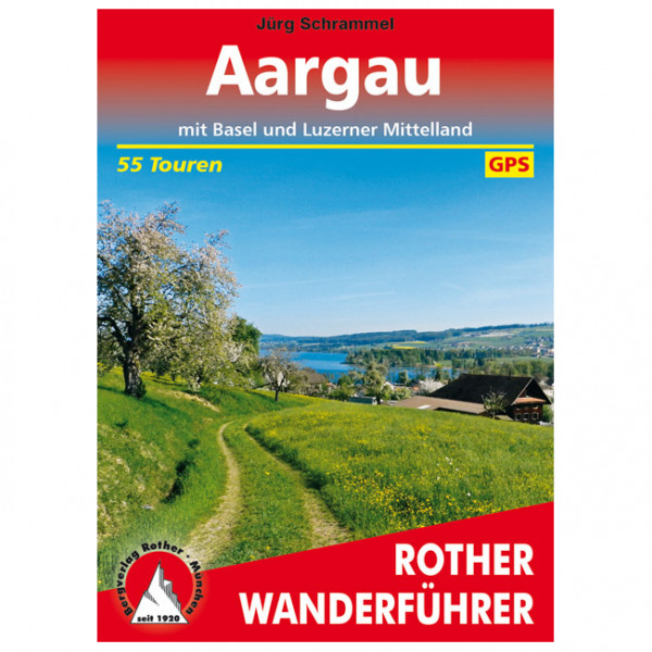 Bergverlag Rother - Aargau - Walking guide book